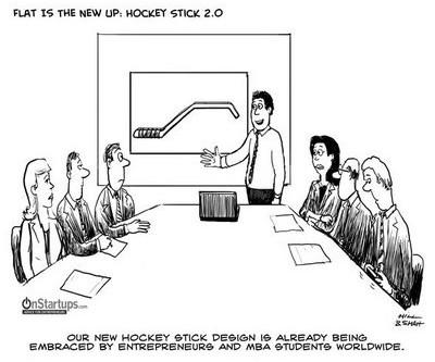 The elusive hockey-stick sales curve